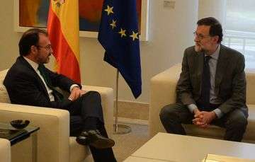 Foreign Secretary Luis Videgaray Meets with Spanish Prime Minister Mariano Rajoy