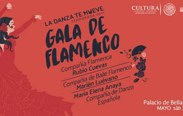 Gala de Flamenco en el Palacio de Bellas Artes