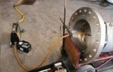 Equipo de radiografía industrial