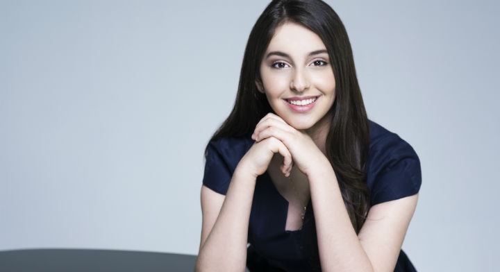 La pianista mexicana Daniela Liebman