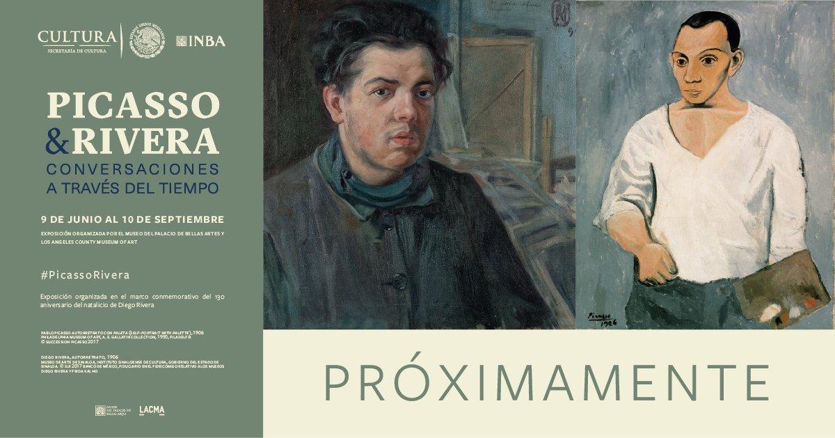 La relación creativa entre Pablo Picasso y Diego Rivera, dos de los artistas más importantes del siglo XX, la similitud en su formación e influencias del arte antiguo en sus obras, llegarán al Museo del Palacio de Bellas Artes.