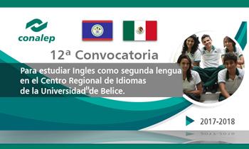 12a. Convocatoria para estudiar ingles como segunda lengua en el Centro Regional de Idiomas de la Universidad de Belice.