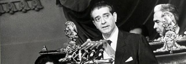 Adolfo López Mateos, Presidente de los Estados Unidos Mexicanos (1958-1964).