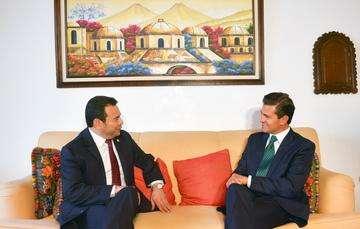 Ambos Mandatarios hablaron sobre los retos comunes y la necesidad de fortalecer el trabajo conjunto para hacerles frente.