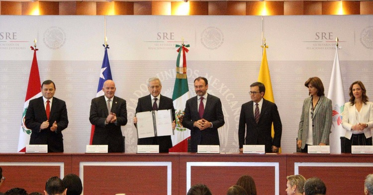 The Pacific Alliance Signs Guidelines For Trade Agreements With