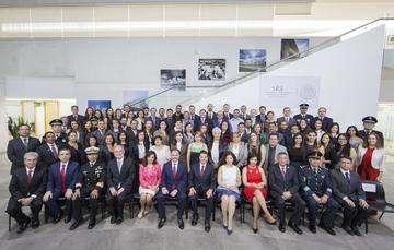 Los Presidentes Peña Nieto y Morales encabezaron el Foro Empresarial Guatemala-México, última actividad en el marco de la Visita de Estado que el Mandatario mexicano realizó a esta nación centroamericana.