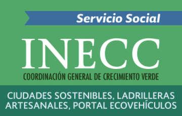 Servicio social en el INECC