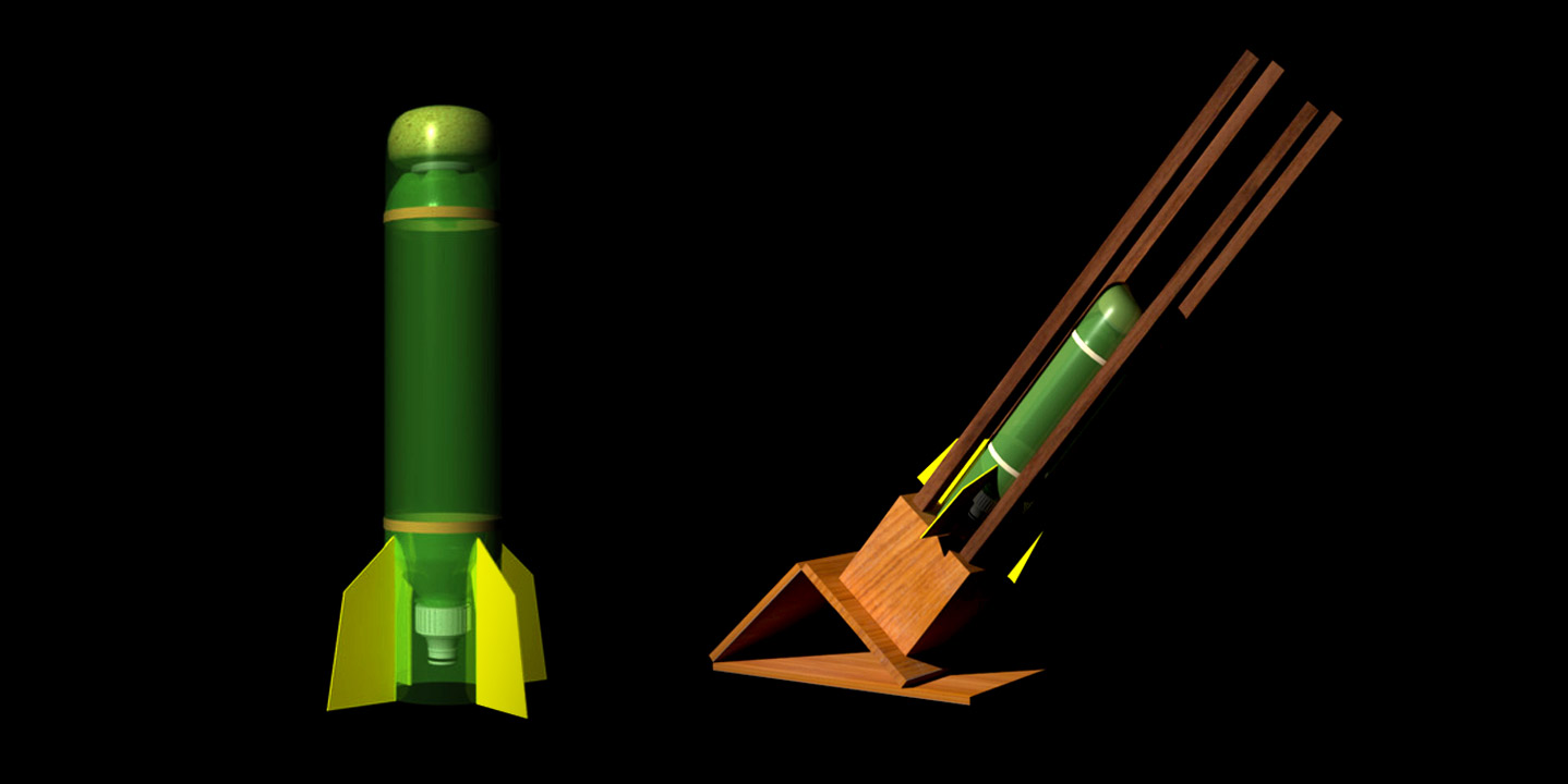 ¡Arma tu propio cohete de agua con botellas de refresco y materiales muy sencillos de conseguir!