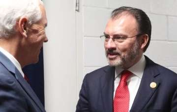 Meeting of Foreign Secretary Luis Videgaray and U.S. Vice President Mike Pence