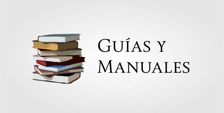 Guías y manuales Censida