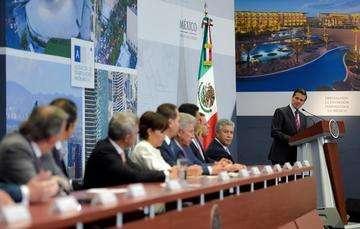 """""""Las inversiones inmobiliarias se han logrado gracias a las condiciones que México ha venido modelando teniendo reformas estructurales, cambios para impulsar el desarrollo y el crecimiento del país"""": EPN"""