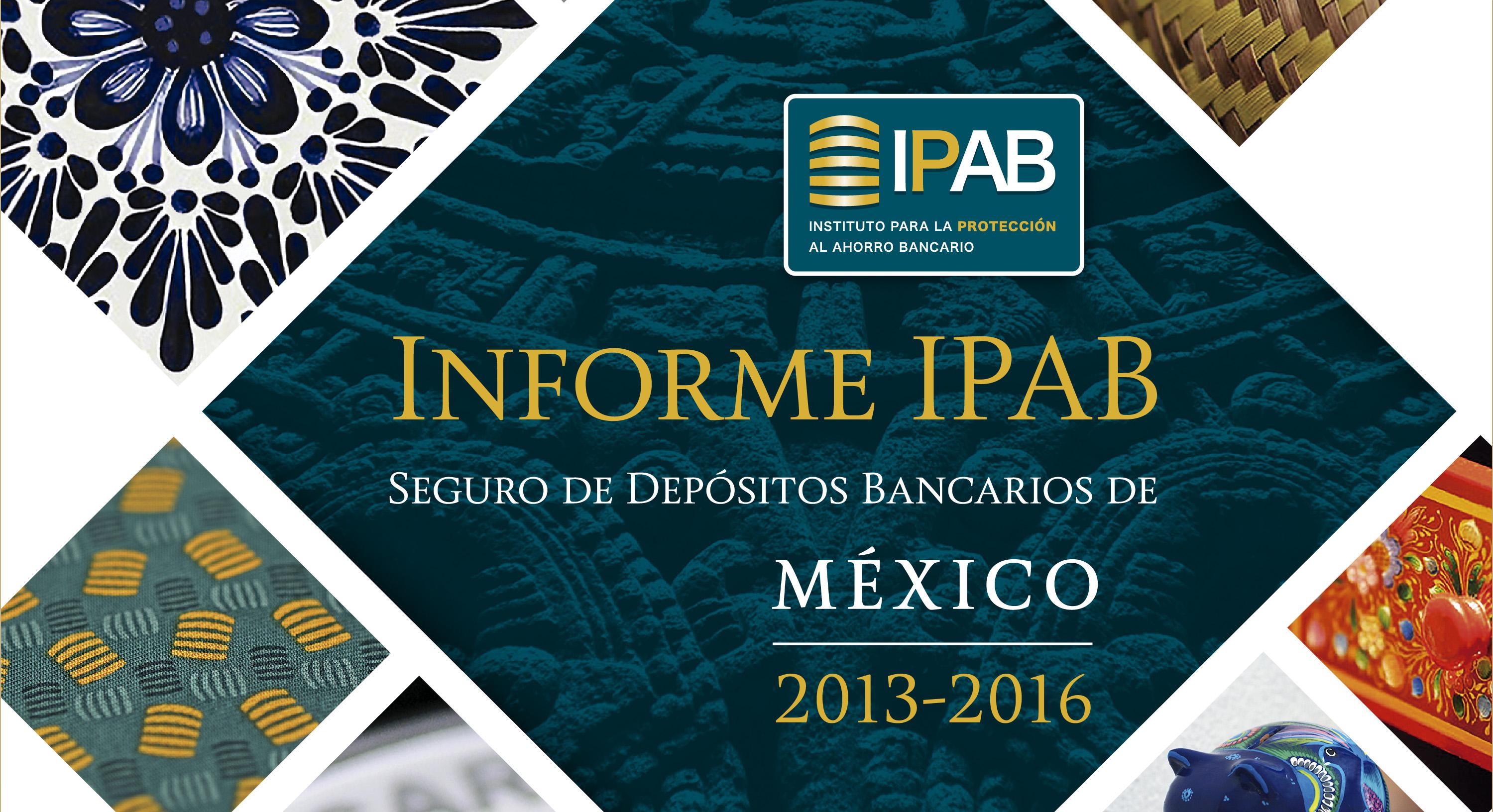 Informe IPAB 2013-2016