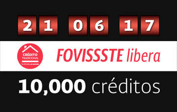 FOVISSSTE libera 10 mil créditos de vivienda de su lista prevista para este 2017
