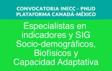 Convocatoria INECC -PNUD
