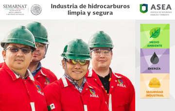 """Campaña institucional """"Industria de hidrocarburos limpia y segura""""."""