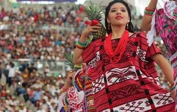 Guelaguetza en Oaxaca.