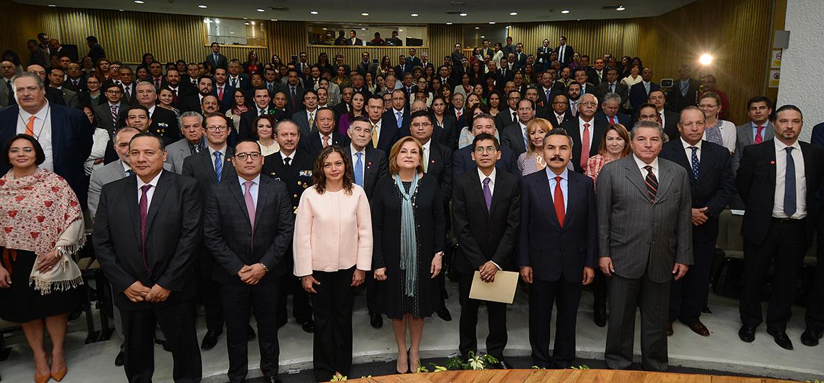 Compromiso de la SFP, consolidad el SNA para fortalecer al estado y la confianza ciudadana: Arely Gómez