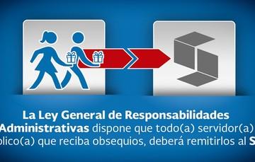 Artículo 40 Ley General de Responsabilidades Administrativas
