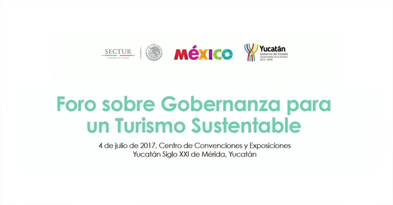 Foro sobre Gobernanza para un Turismo Sustentable.