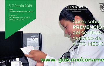 Curso sobre prevención del conflicto derivado del acto médico para profesionales de la salud ¡Inscríbete ya!