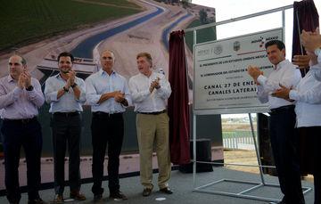 """""""Son obras de infraestructura carretera, de infraestructura hidráulica, que nos permiten elevar la competitividad, generar oportunidades para los habitantes de este gran estado y de otras entidades vecinas"""": EPN"""