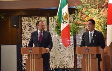 Se reúne el Secretario Luis Videgaray con el Ministro de Asuntos Exteriores de Japón, Fumio Kishida