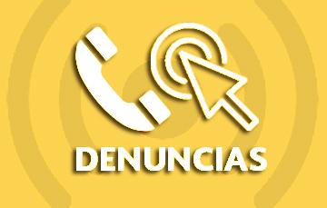 Denuncia telefónica y en línea