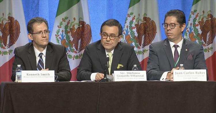 Participación del Secretario de Economía, Ildefonso Guajardo Villarreal