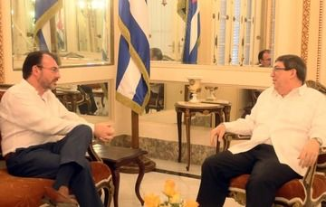Foreign Secretary Videgaray meets with Cuban Foreign Minister Rodríguez