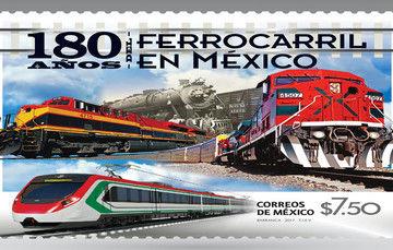 180 Años del Ferrocarril en México