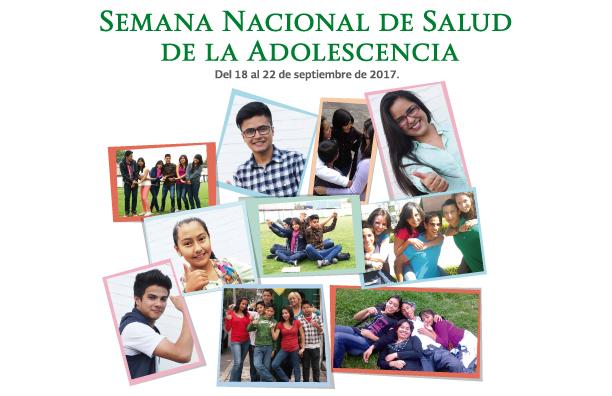 Semana Nacional de Salud de la Adolescencia