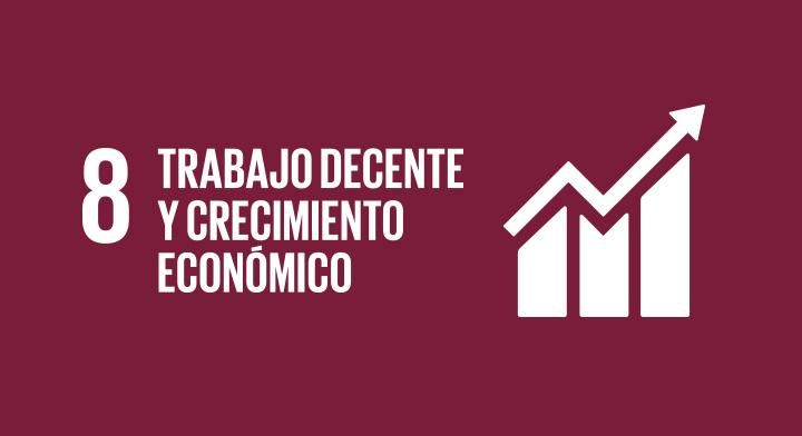 Objetivo de Desarrollo Sostenible 8: Trabajo Decente y Crecimiento Económico.