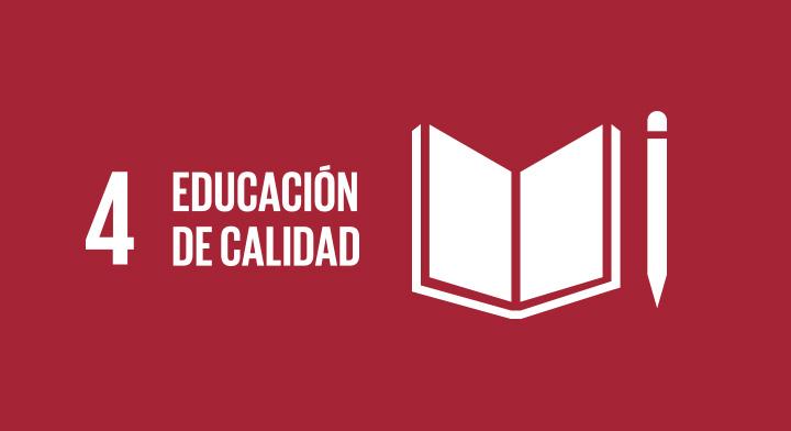 Objetivo de Desarrollo Sostenible 4: Educación de Calidad.