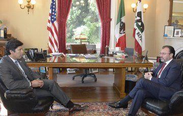 Refrenda el Canciller Videgaray apoyo de México a Dreamers