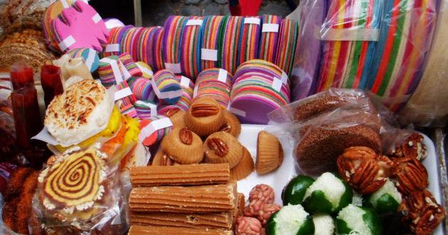 Dulces típicos hechos con productos del campo mexicano