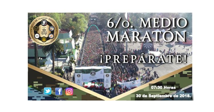 Imagen representativa al 6/o. Medio Maratón.