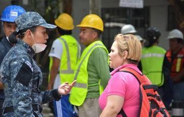 Policía Federal estableció Centro Provisional de Atención a Víctimas en Avenida Álvaro Obregón de la Ciudad de México