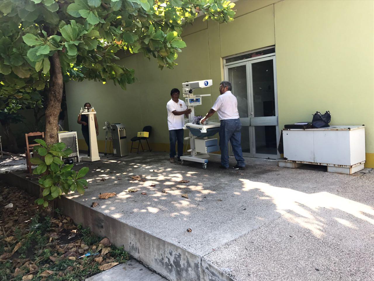 Se mantienen las actividades sanitarias en las zonas afectadas por los sismos del 7 y 19 de septiembre