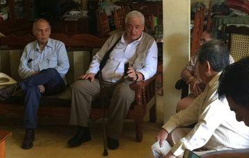 Vocal Ejecutivo del FOVISSSTE evalúa apoyo a damnificados por el sismo en Jaltenango, Chiapas