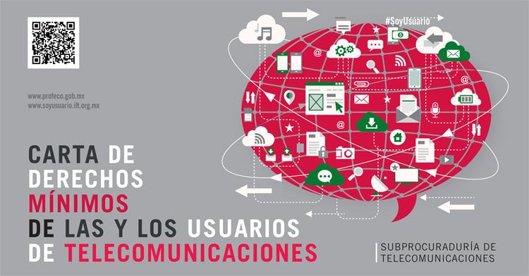Conoce tus derechos en servicios de telecomunicaciones y hazlos valer, en caso fortuito y siempre.