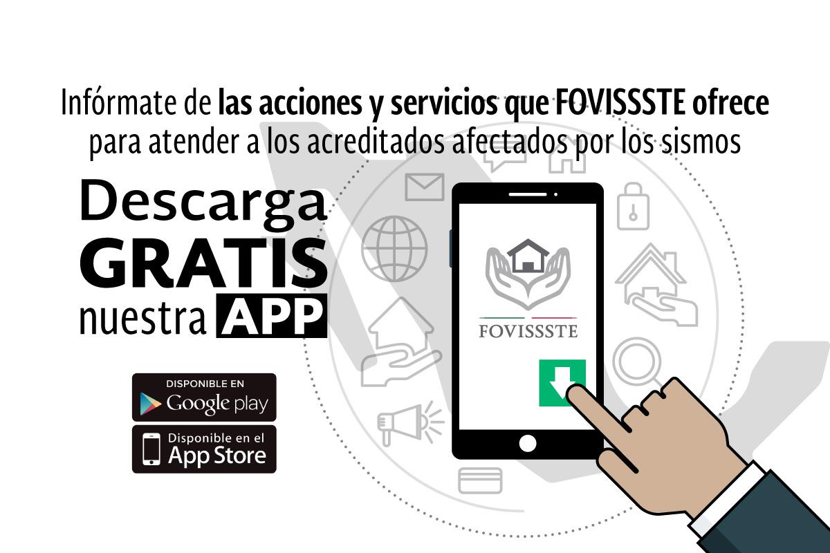FOVISSSTE lanza nueva aplicación