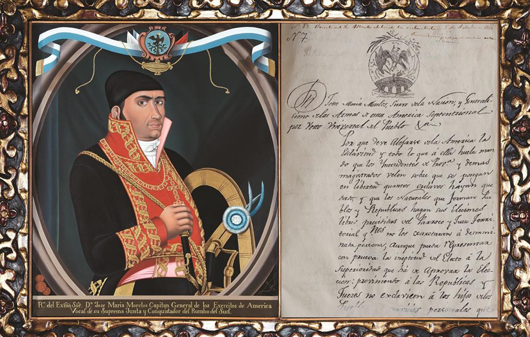Agnrecuerda La Abolicion De La Esclavitud Emitida Por Jose Maria Morelos Y Pavon Archivo General De La Nacion Gobierno Gob Mx
