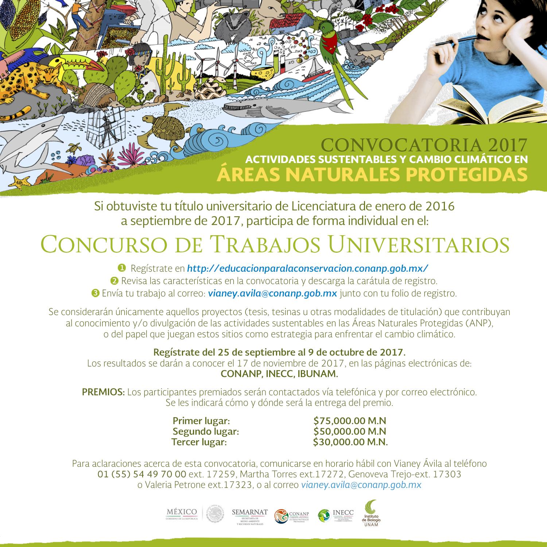 Concurso Trabajos Universitarios 2017