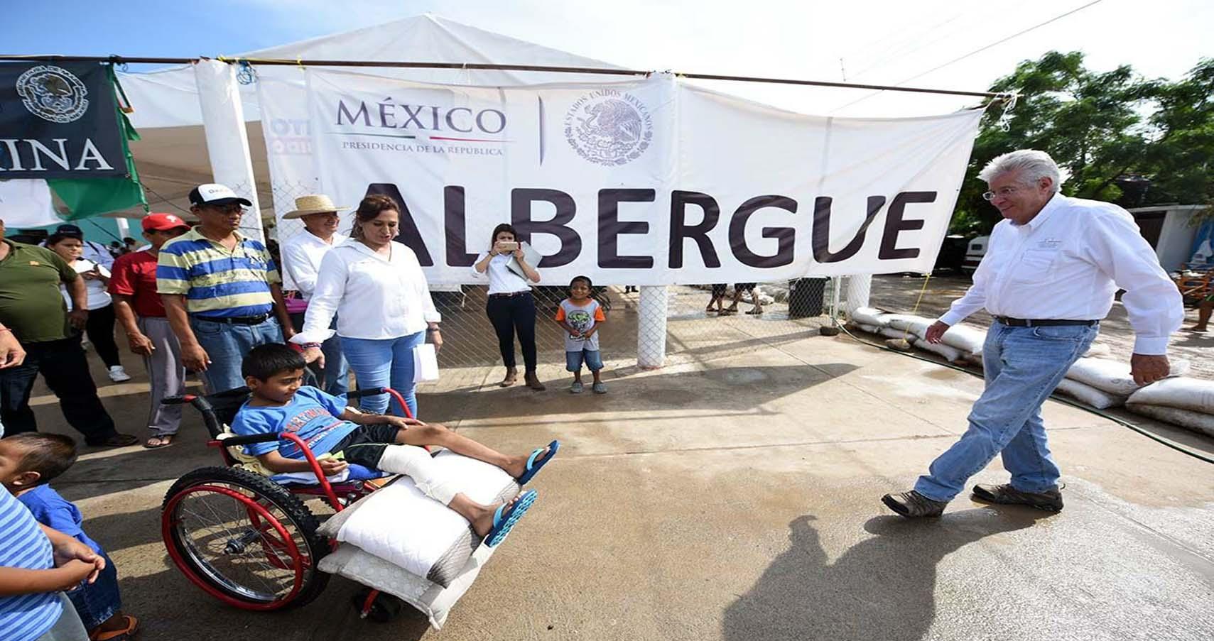 Inicia etapa de reconstrucción en municipios de Oaxaca: GRE