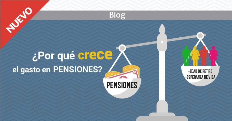 ¿Por qué crece el gasto en pensiones?