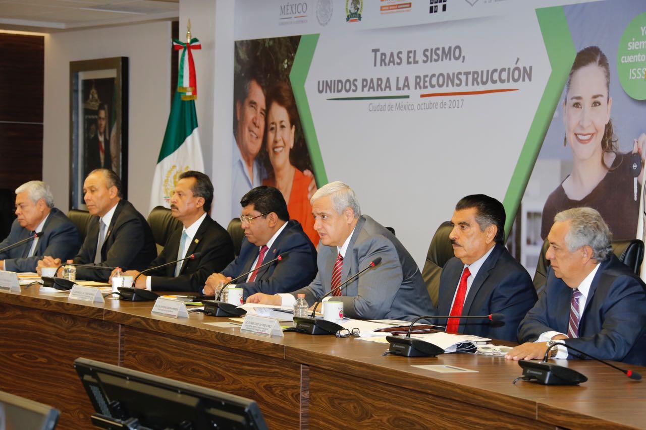 En conferencia de prensa se informó que los recursos se destinarán a créditos preferenciales, segundos créditos y financiamientos para la ampliación o reparación de casas.