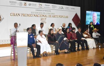Premiación Arte Popular