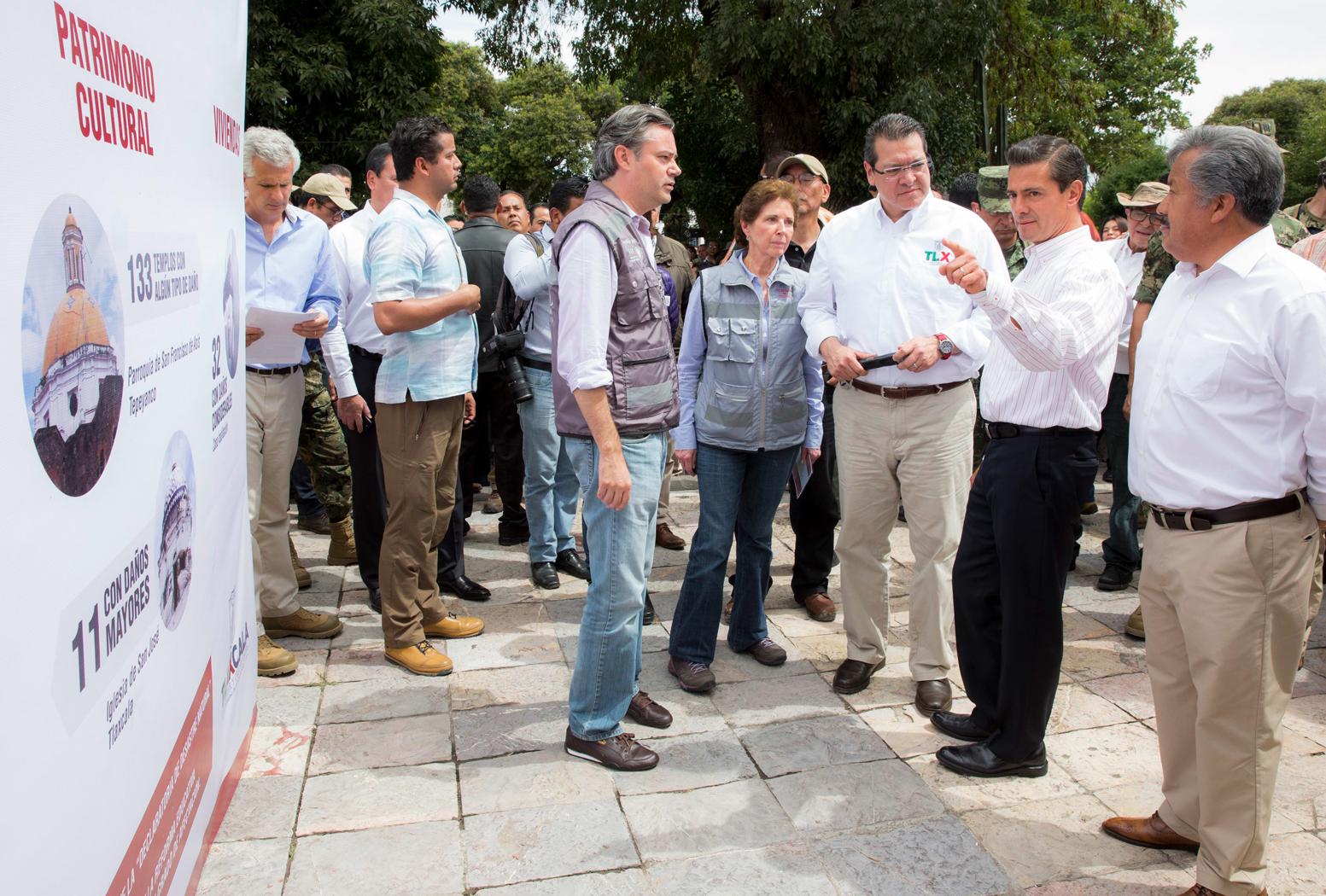 """El 19 de septiembre """"quedará marcada como una fecha en la que, sin duda, es la solidaridad y la unidad entre los mexicanos lo que está permitiéndonos ponernos de pie y estar por encima de este momento adverso"""": EPN"""