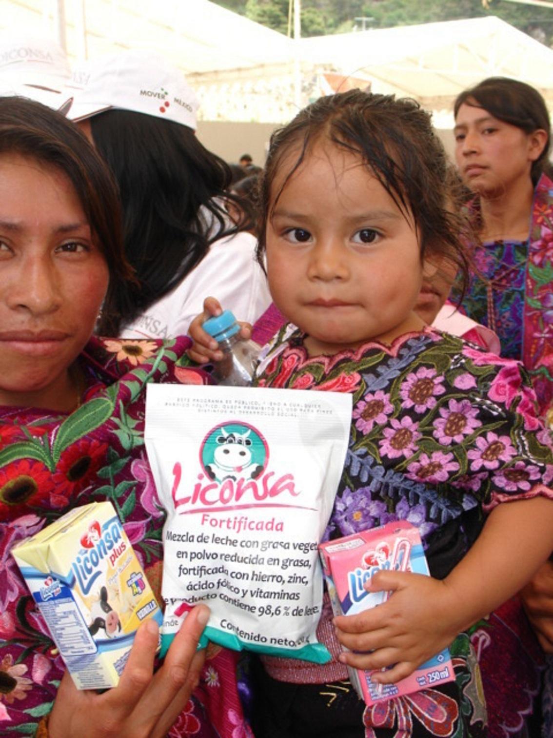 Liconsa contribuye en la nutrición de más de un millón 628 mil niñas mexicanas