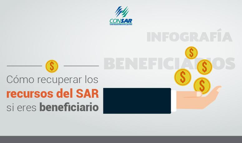 Cómo recuperar los recursos del SAR en caso de fallecimiento de un familiar.